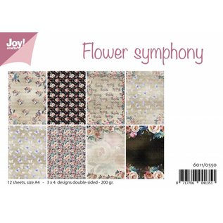 Joy!Crafts Papierset - Flower Symphony