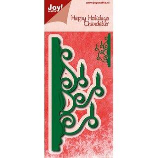 Joy!Crafts Snij-embos stencil - randmal kandelaar
