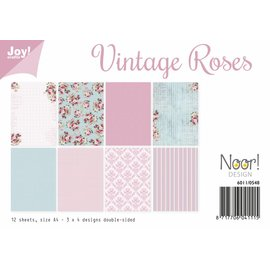 Joy!Crafts Papierset - Design Vintage Roses