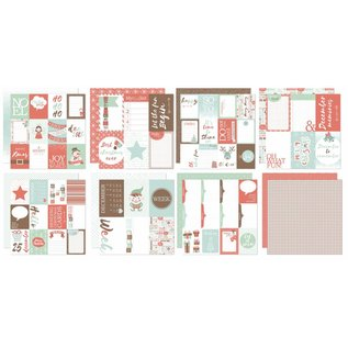 Joy!Crafts Scrap Designpapier - Project Life - December to re