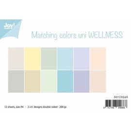Joy!Crafts Papierset - Matchingcolors uni - Wellness