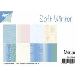 Joy!Crafts Papierset - Mery's Soft Winter