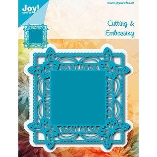 Joy!Crafts Snij-embosstencil - Vlinders op de hoeken