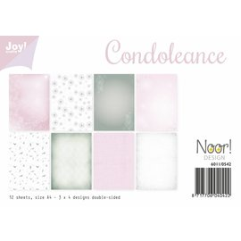 Joy!Crafts Papierset - Condoleance