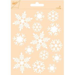 Joy!Crafts Polybesa embosstencil - sneeuwvlokken