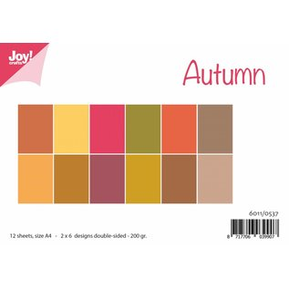 Joy!Crafts Papierset Matching Colors uni - Herfst