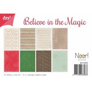 Joy!Crafts Papierset - Believe in the Magic