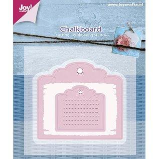 Joy!Crafts Snij-embosstencil - Mery's schoolbord (2st)