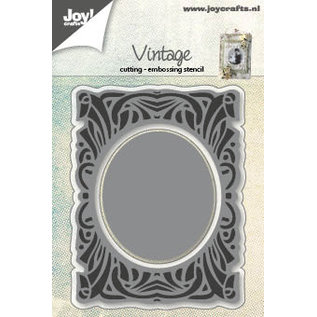 Joy!Crafts Snij-embosstencil - Vintage met cirkel