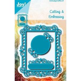 Joy!Crafts Snij- embos stencil - Fantasy rechthoek + 2 frames