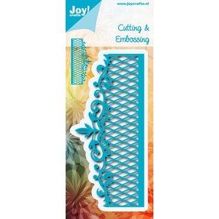 Joy!Crafts Snij-embos stencil - randmal ruitjes