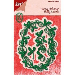 Joy!Crafts Snij- embos stencil - Ovale Hulstmal