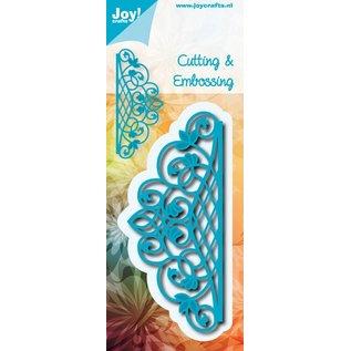 Joy!Crafts Snij- en embos stencil - Randmal ovaal