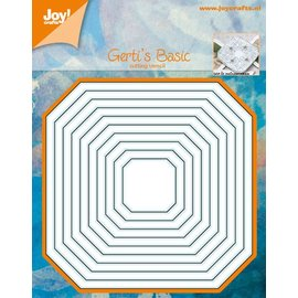 Joy!Crafts Snijstencil - Gerti's basis 10st