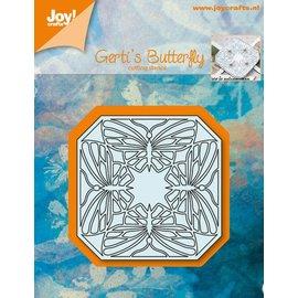 Joy!Crafts Snijstencil - Gerti's vlinder kwartet