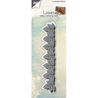 Joy!Crafts Snij- embos stencil - bladeren