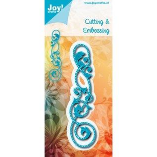 Joy!Crafts Snij- embos stencil - rand met gaatjes