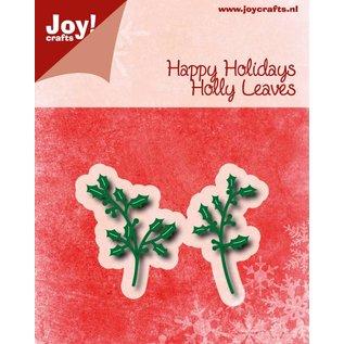 Joy!Crafts Snij-embosstencil - Happy Holidays - Hulsttakjes