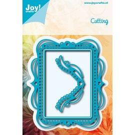 Joy!Crafts Snijstencil - Kadermat met ronde hoekjes (4st)