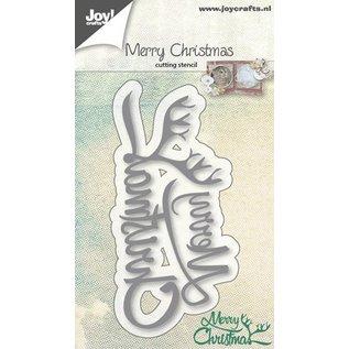 Joy!Crafts Snijstencil - Merry Christmas tekst