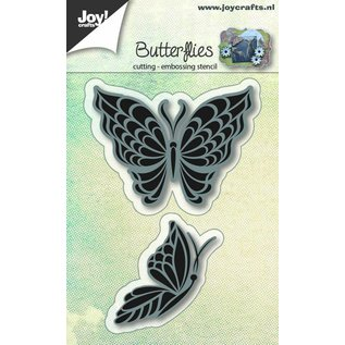 Joy!Crafts Snij-embosstencil - Vlinder 2st