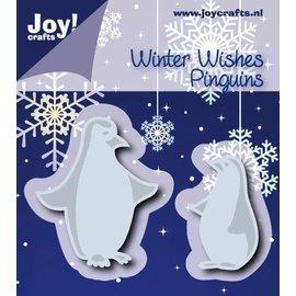 Joy!Crafts Snij-embosstencil -  Pinguïns (2st)