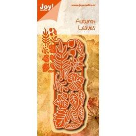 Joy!Crafts Snij- embos stencil - herfst bladeren