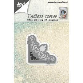 Joy!Crafts Snij-embos-debosstencil - Hoekje eindeloos