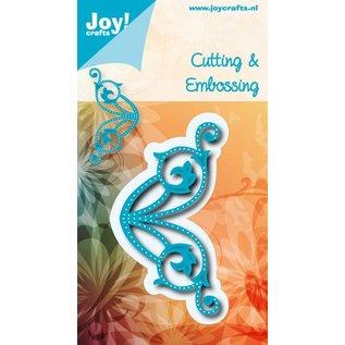 Joy!Crafts Snij-embos stencil - hoek met gaatjes