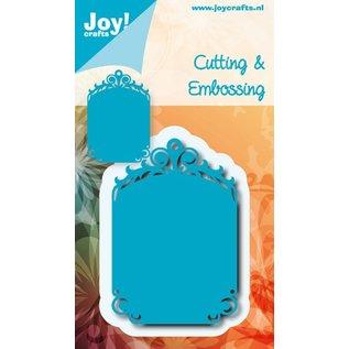 Joy!Crafts Snij- embos stencil - Tag blauwe mal