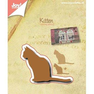 Joy!Crafts Snijstencil - Kat - Silhouette