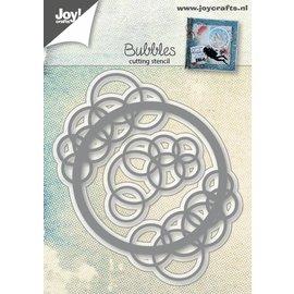 Joy!Crafts Snijstencil - Bubbel cirkel + hoek