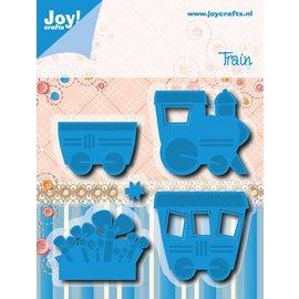 Joy!Crafts Snij- Embos stencil - Trein