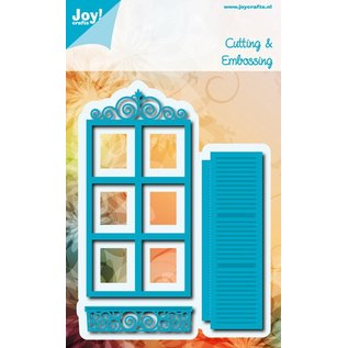 Joy!Crafts Snij- embos stencils (3st) - raam-luik
