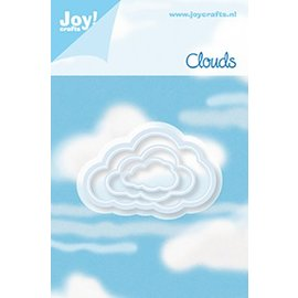 Joy!Crafts Snijstencil - set (3st) Wolken