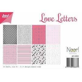 Joy!Crafts Papierset - Love Letters
