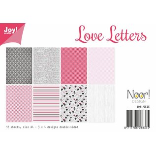 Joy!Crafts Papierset - Love Letters