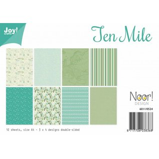 Joy!Crafts Papierset - Design - Ten Miles