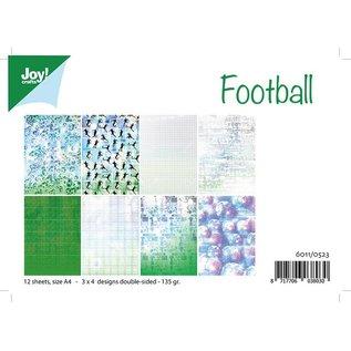 Joy!Crafts Papierset - Football