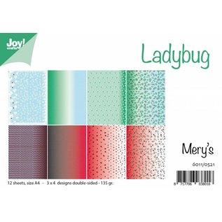Joy!Crafts Papierset - Ladybug