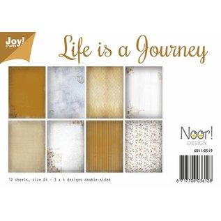 Joy!Crafts Papierset - Life is a journey