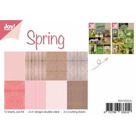 Joy!Crafts Papierset met knipvellen - Lente
