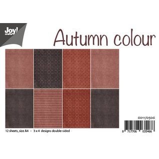 Joy!Crafts Papierset - Autumn colour