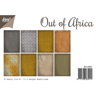 Joy!Crafts Papierset - Out of Africa