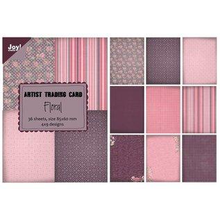 Joy!Crafts Papierblok ATC - Floral