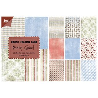Joy!Crafts Papierblok ATC - Berry Sweet