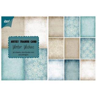 Joy!Crafts Papierblok ATC - Winter Wishes