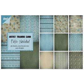 Joy!Crafts Papierblok ATC - Feliz Navidad
