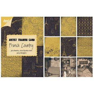 Joy!Crafts Papierblok ATC - French Country