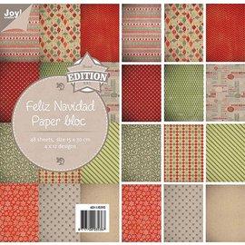 Joy!Crafts Papierblok - Feliz Navidad